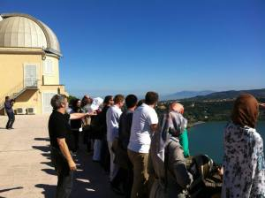 With The Lay Centre in Castel Gandolfo