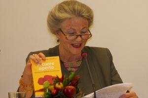 Aldegonde Brenninkmeijer-Werhahn presents her new book, A cuore aperto: riflessioni sul significato del matrimonio